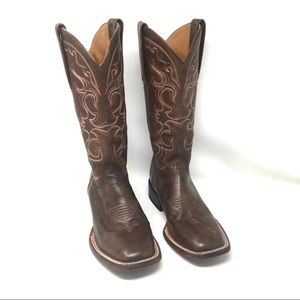 Lucchese Leather Cowboy Boots 8.5
